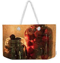 Memories Of Jams, Preserves And Jellies  Weekender Tote Bag by Sherry Hallemeier