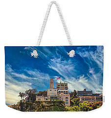 Weekender Tote Bag featuring the photograph Memories Of San Francisco by John M Bailey