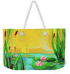 Memories Of The Lake Weekender Tote Bag