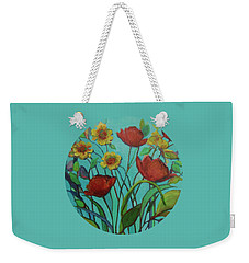 Memories Of The Meadow Weekender Tote Bag by Mary Wolf