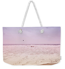 Weekender Tote Bag featuring the photograph Memories Of The Sea by Heidi Hermes