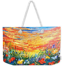 Memories Weekender Tote Bag by Teresa Wegrzyn