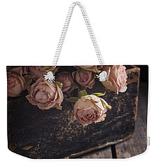 Weekender Tote Bag featuring the photograph Memory Box by Amy Weiss