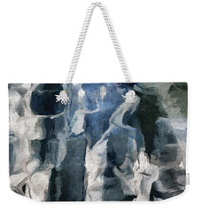 Memory Hotel - Dark Canvas Abstract Art Weekender Tote Bag