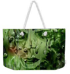 Weekender Tote Bag featuring the digital art Memory In The Rain by Darren Cannell