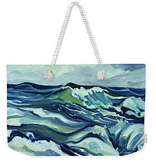 Memory Of The Ocean Weekender Tote Bag