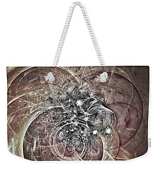 Memory Remains Weekender Tote Bag by Jeff Iverson