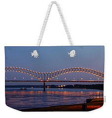 Memphis - I-40 Bridge Over The Mississippi 2 Weekender Tote Bag