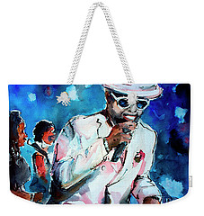 Memphis Music Legend William Bell On Stage 1 Weekender Tote Bag