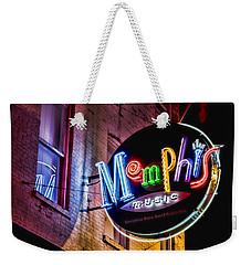 Memphis Music Weekender Tote Bag by Stephen Stookey