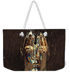 Men Are From Mars Gold Weekender Tote Bag by ISAW Gallery