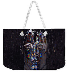 Men Are From Mars Silver Weekender Tote Bag by ISAW Gallery