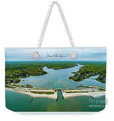 Menauhant Beach Weekender Tote Bag