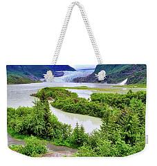 Mendenhall Glacier Alaska Weekender Tote Bag