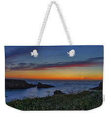 Mendocino Headlands Sunset Weekender Tote Bag