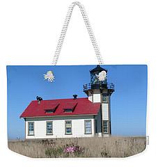 Mendocino Lighthouse Weekender Tote Bag