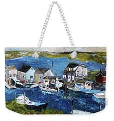 Menemsha Fishing Village Weekender Tote Bag