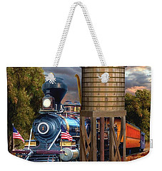 Menlo Park Tower Weekender Tote Bag