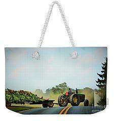 Menonnite Tobacco Farmer And Wife Weekender Tote Bag