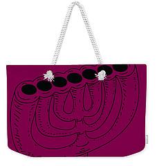 Menorah 1 Weekender Tote Bag