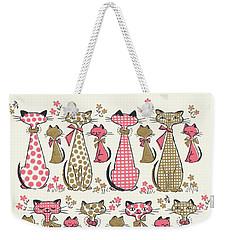 Meow... Weekender Tote Bag