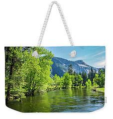 Merced River In Yosemite Valley Weekender Tote Bag