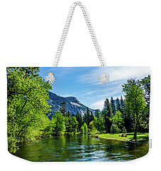 Merced River In Yosemite Valley Weekender Tote Bag