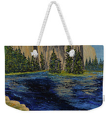Merced River, Yosemite Park Weekender Tote Bag