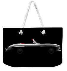 Mercedes 300 Sl Roadster - Side View Weekender Tote Bag