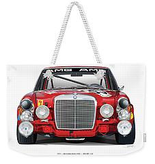 Mercedes-benz 300sel 6.3 On White Weekender Tote Bag
