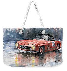 Mercedes Benz 300sl Weekender Tote Bag