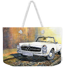 Mercedes Benz W113 280 Sl Pagoda Front Weekender Tote Bag