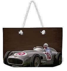 Mercedes-benz W196 Number 10 Weekender Tote Bag by Wally Hampton
