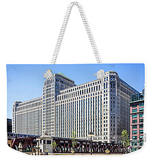 Merchandise Mart Overlooking The L Weekender Tote Bag