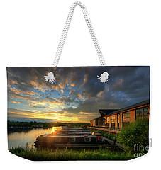 Weekender Tote Bag featuring the photograph Mercia Marina 10.0 by Yhun Suarez
