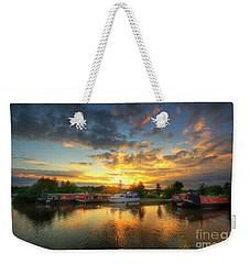Weekender Tote Bag featuring the photograph Mercia Marina 11.0 by Yhun Suarez