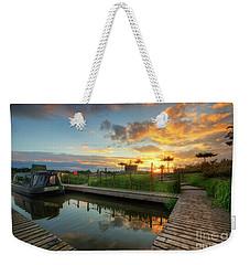 Weekender Tote Bag featuring the photograph Mercia Marina 13.0 by Yhun Suarez