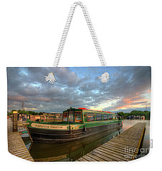 Weekender Tote Bag featuring the photograph Mercia Marina 14.0 by Yhun Suarez