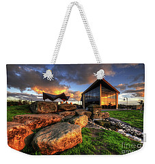 Weekender Tote Bag featuring the photograph Mercia Marina 15.0 by Yhun Suarez