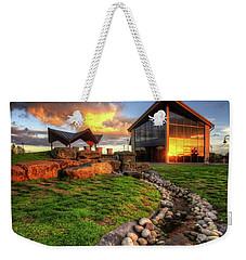 Weekender Tote Bag featuring the photograph Mercia Marina 17.0 by Yhun Suarez