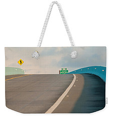 Merge To The Clouds Weekender Tote Bag