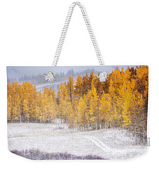 Merging Seasons Weekender Tote Bag