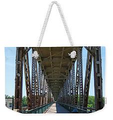 Meridian Bridge Weekender Tote Bag