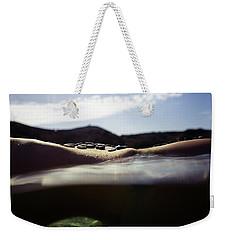 Mermaid Curves In Nature Weekender Tote Bag