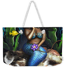 Yemaya Mermaid  Weekender Tote Bag