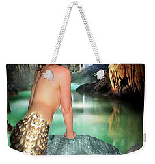 Mermaid In A Cave Weekender Tote Bag