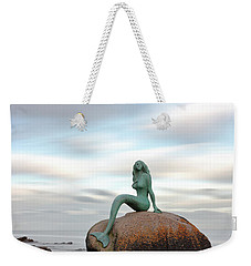 Mermaid Of The North Weekender Tote Bag