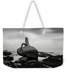 Mermaid Of The North Mono Weekender Tote Bag