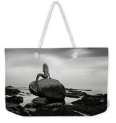 Mermaid Of The North Mono Weekender Tote Bag