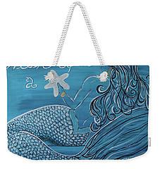 Mermaid- Wish Upon A Starfish Weekender Tote Bag